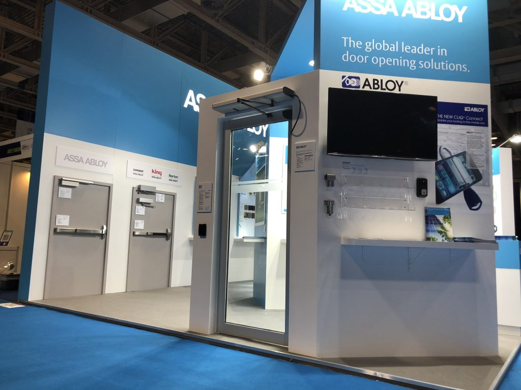 G2E Show Macau Assa Abloy left side 2